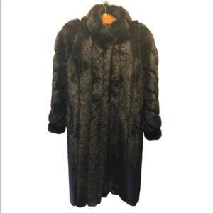 Jackets & Blazers - Faux fur full length coat